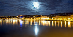 budapest at night (rich01535) Tags: city longexposure sky moon water night river nikon europe hungary cityscape budapest fullframe danube silky nikond610