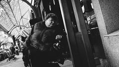 untitled, December 26, 2015 (Alexis Mnard) Tags: street camera city winter portrait urban bw canada film monochrome contrast america prime blackwhite exposure cityscape montral metro quebec montreal candid sony trix grain streetphotography wideangle rosemont sidewalk filter qubec handheld northamerica fixed hybrid ville urbanscape yul noirblanc lightroom urbain dystopia emulation fixedlens pancakelens primelens vsco emount nex7 sel20f28 alphanex7