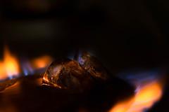#MacroMonday #Hot/Cold (cuppyuppycake) Tags: light hot cold macro ice fire indoor burn melt monday macromonday