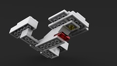 Enterprise D v2 (SafePit) Tags: startrek lego blender enterprise ldd 1701d mecabricks