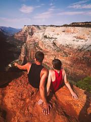173/366 (Garen M.) Tags: hiking canyon hike zion zionnationalpark day4 olympusomdem1 zuikopro714mmf28