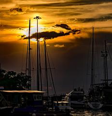 Sun Over Chioggia (Pino Snorr) Tags: street italien sunset sea italy sun sunlight italian italia it chioggia veneto ilovepizza