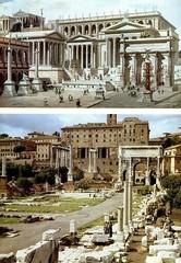 Ancient Rome. Roman Forum recreation (mike catalonian) Tags: romanforum ancientrome