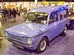 158 Hillman Husky (1969) (robertknight16) Tags: scotland husky british 1960s imp hillman linwood commer rootes nec2013 xly828g