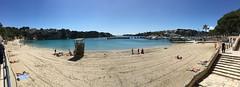 Porto Cristo (escarolain) Tags: beach playa mallorca balears balearic islands illes water agua aigua platja portocristo panoramic panormica panormica iphone6s iphone iphoners 6s blue azul