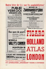 Typefoundry Amsterdam Wood Type (henkgianotten) Tags: typography 1940 signage 1941 typedesign woodtype lettergieterijamsterdam tetterode typefoundryamsterdam stefanschlesinger