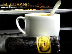 El cubano y Caf irlands o Irish coffee (Diaz De Vivar Gustavo) Tags: irish coffee caf de o gustavo diaz irlands vivar