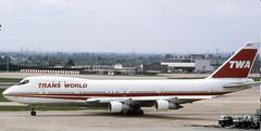 N53110. TWA Boeing 747-131 (Ayronautica) Tags: heathrow aviation may scanned 1989 twa lhr egll 19676 transworldairlines b741 n53110 boeing747131 ayronautica