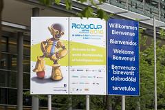 Robcup 2016 // Welcome at Leipzig Trade Fair (robocup2016) Tags: leipzig sachsen deutschland deu robocup robocup2016