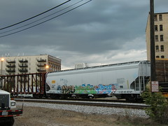 10-01-10 (101) (This Guy...) Tags: road railroad car train hope graffiti ipc box graf rail rr traincar much boxcar graff hm yen 2010 hope4 yen34