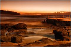 Curl Curl Sunrise June 14 4 (seasonleban) Tags: sea rock sunrise sand sydney curlcurl