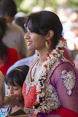 DUE_4676r (crobart) Tags: dedication statue ji golden vishnu hill ceremony richmond celebration idol hanuman unveiling hindu hinduism mandir bapu pujya morari