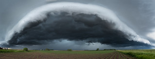 Minnesota shelf cloud.