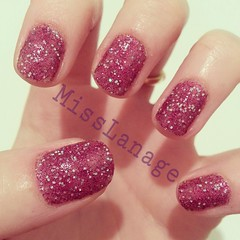 Sally Hansen - gem crush (MissLanage) Tags: sparkles nails nailpolish nailart manicures sallyhansen glitternails flickrandroidapp:filter=none gemcrush