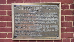 Waterford, VA Baptist Church marker (Msanders55) Tags: virginia civilwar battlefield historicalmarker loudoncountyva americancivilwar