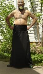 black Erosemo skirt 2 (old_hippie_1954) Tags: gay shirtless tattoo beard goatee shaved bald hippie nosering shavedhead peircing barechest bullring skinhead septum septumpiercing facetattoo maninskirt nosepeircing manskirt facetattoos scalptattoo neckring skirtedman gayskinhead facepeircing visibletattoos facialtattoosandpiercings facetattoosandpeircings facepeircings mebarechest erosemoskirt