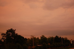 The sky after the storm 2013-05-20 8:01pm (radargeek) Tags: sky oklahoma clouds mustang ok