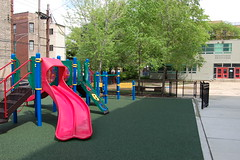 Playground 1 (oeil21) Tags: playground spanish preschool logansquare gym elementary reggioemilia palmerpark spanishimmersion magnetschool duallanguage darwinelementary