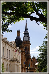 Sunny Southport (The Old Brit) Tags: tower heritage architecture spires flags clocktower noon resorts southport scapes publicbuildings merseyside sefton townhalls seftoncouncil southporttownhall