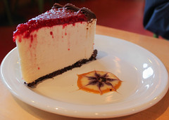 White Chocolate Raspberry Mousse Torte (top) (KatieFuji) Tags: life white cake dessert sweet chocolate patisserie foodporn pastry raspberry layers torte