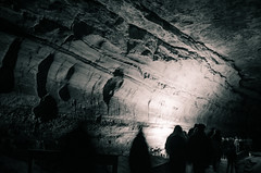 Underground Passage (_Codename_) Tags: blackwhite nationalpark kentucky mammothcave cave splittoning