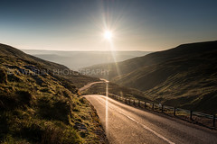 DSC_1233 (awhelin) Tags: road uk morning england sun sunrise landscape photography nationalpark nikon britain yorkshire great hills lensflare winding northyorkshire dales d800 awhelin
