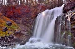 MooseFalls, Yellowstone (P. Oglesby) Tags: autumn waterfalls yellowstonenationalpark longexposures thehighlander godlovesyou moosefalls