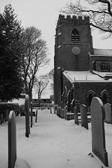 BOLSTERSTONE (Andrew Mansfield - Sheffield UK) Tags: winter england snow church graveyard sheffield yorkshire southyorkshire bolsterstone bolsterstonechurch