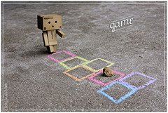 167of365 (JLWalker68) Tags: game play hopscotch danbo