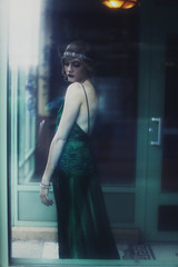 Moonlight Serenade (Liz Osban) Tags: 1920s vintage dress great foggy retro moonlight flapper rookie 30s kiera keira serenade 40s 20s gatsby atonement