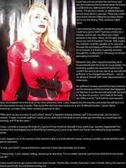 TG caption: MAU Latex (Jenni Makepeace) Tags: fetish transformation magic tgirl sissy caption captions mtf tgcaptions tgcaption