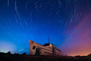 Duke under the stars