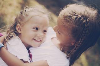 Essere bambini e avere un cuore che non calcola mai...