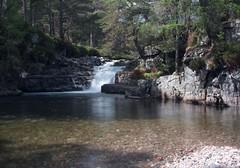 30-7-2013 (Copperhobnob) Tags: summer water river scotland aberdeenshire cairngormsnationalpark quoich riverquoich localexhib