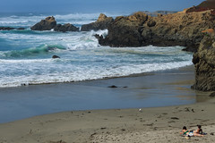 Glass Beach_0110 (mon_ster67) Tags: ocean seascape beach northerncalifornia coast sand wave topless mon sunbathing fortbragg crashingwave coatline mon