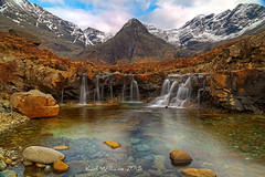 Fairy Pools (6) (Shuggie!!) Tags: longexposure snow mountains skye water landscape scotland waterfall rocks cuillins hdr zenfolio minginish