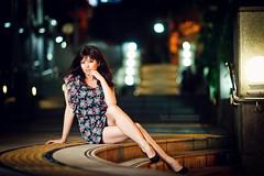 Asuka @ Umeda (New portrait community info in the description) (Ilko Allexandroff / ) Tags: portrait sexy beautiful umbrella asian japanese asuka   ilko strobist