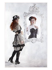 Different (guenterleitenbauer) Tags: pictures beauty fashion canon studio austria photo sterreich key punk flickr akt foto ines image photos gothic picture images lingerie steam fotos shooting bild dessous bilder februar steampunk gnter kleider wels  gunskirchen 2013 guenter  leitenbauer wwwleitenbauernet auberger
