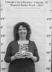 Banned Books Week 2013 - Amy M. (BookGuide at LCL) Tags: nebraska bbw lincoln bannedbooksweek 2013 bennettmartinpubliclibrary lincolncitylibraries