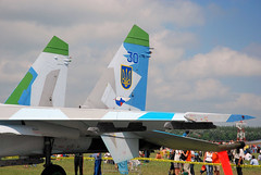 "Sukhoi Su-27 (1) • <a style=""font-size:0.8em;"" href=""http://www.flickr.com/photos/81723459@N04/9962642466/"" target=""_blank"">View on Flickr</a>"