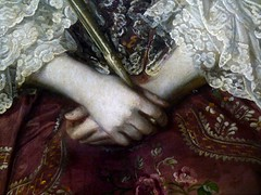 (perpetually dishevelled) Tags: portrait england detail london painting hands oil skintone sirjoshuareynolds guildhallartgallery ladydorotheaharrison