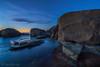 Everythings Gonna Be Undone (Trent Blomfield) Tags: sunrise australia sundance centralcoast nocolour forresters
