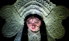 Durga P[uja 2013 (Tapas Biswas) Tags: travel light woman india abstract color colour art girl face festival lady female festive outdoors artwork eyes hands nikon women nightshot image artistic antique candid crafts indian religion creative goddess culture craft creation clay hindu bengal puja durga durgapuja devine artisticphotography westbengal tranquilscene candidphotography d90 indianfestival indianculture hindugoddess durgafestival creativephotography festivalofcolor nikond90 clayidol nikod90 nikond9o incrediblebengal durgapuja2013