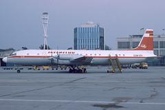 Interflug Ilyushin 18 GRM DDR-STI (c/n 185008404) (Manfred Saitz) Tags: interflug il18 ilyushin 18 ddrsti vienna ddrreg vie loww