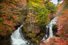 Ryuzu waterfall,nikko (kapuk dodds) Tags: autumn colour water japan season waterfall leaf change nikko ryazu