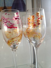Glitter Rose glassware_2
