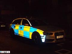 Audi A4 Estate Glasgow 2013 ( SF13 CYY ) (seifracing) Tags: road november scotland traffic britain crash glasgow aviation transport scottish police helicopter british audi polizei spotting strathclyde brigade unit armed polizia policing seifracing sf13cyy