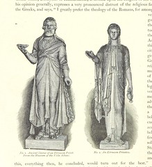 Image taken from page 60 of 'Ancient Rome and its connection with the Christian religion. An outline of the history of the city from its ... foundation ... to the erection of the chair of St. Peter in the Ostrian Cemetery ... Containing ... illustrations,