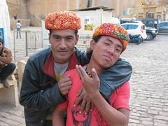 Indians (Myself more than Synghan) Tags: trip travel india lake tourism canon john travels gate tour fort indian sightseeing powershot safari camel korean indians turban camels jaisalmer manju maharaja sagar a630 gadi