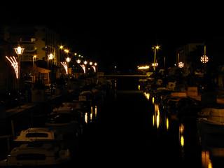 Palavas-les-Flots (34), illuminations 2012